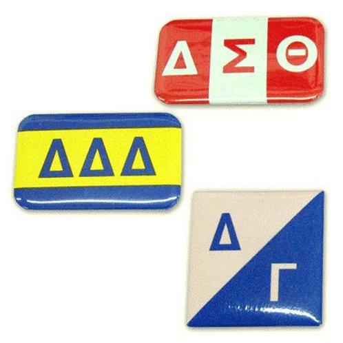 Delta Sigma Theta Flag Button