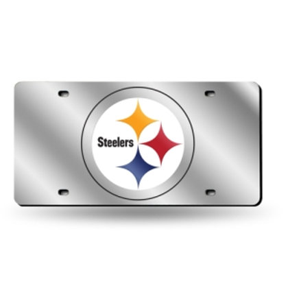 Pittsburgh Steelers Laser Cut License Plate Tag