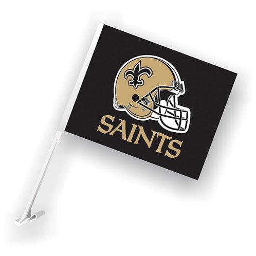 New Orleans Saints Car Flag