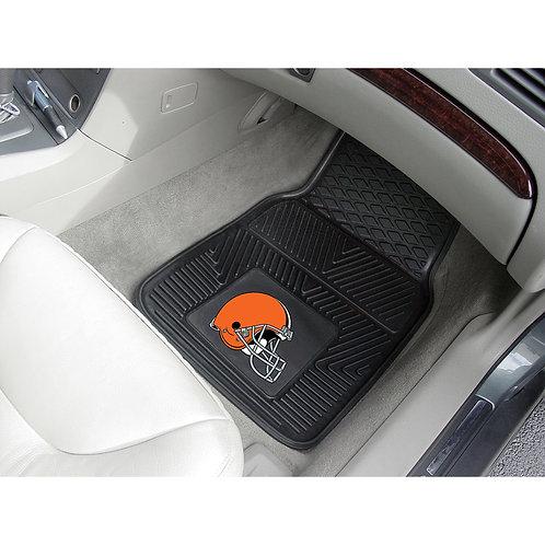 Cleveland Browns Rubber Floor Mats (2)