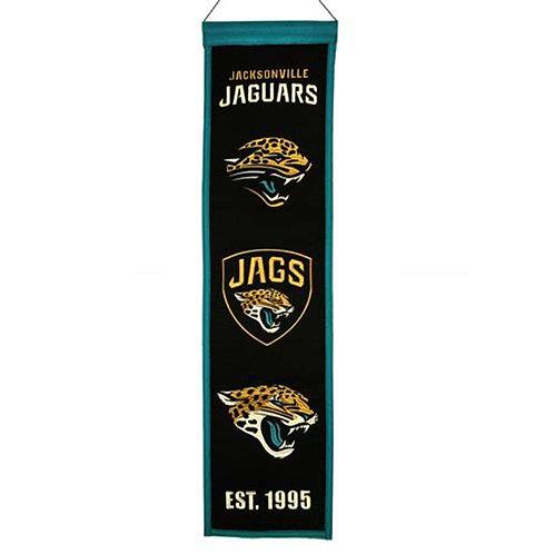 Jacksonville Jaguars Heritage Banner (8x32)