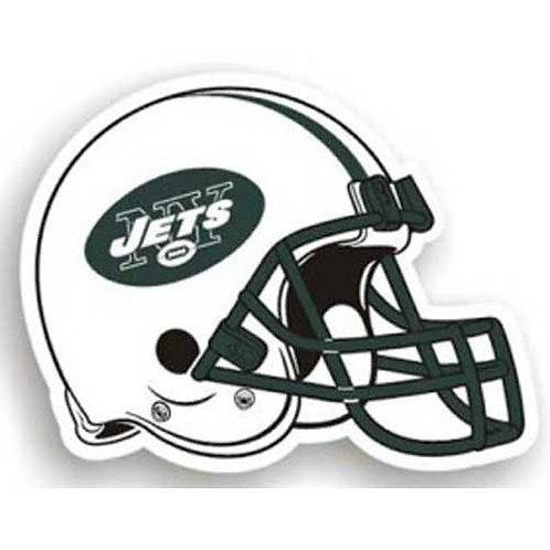 """New York Jets NFL 12"""" Car Magnet"""