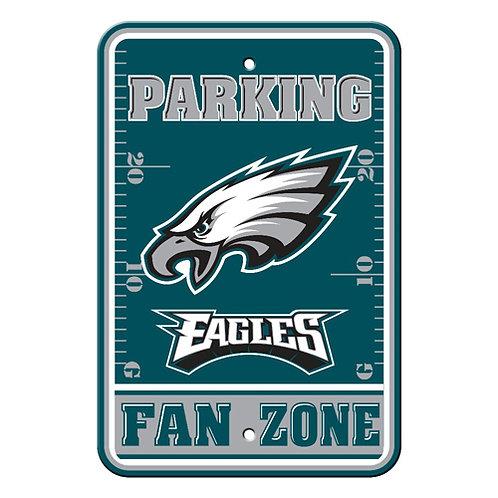Philadelphia Eagles NFL Plastic Parking Sign