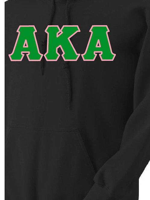 Black AKA Fleece Hoody