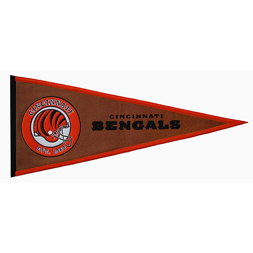Bengals Pigskin Traditions Pennant (13x32)