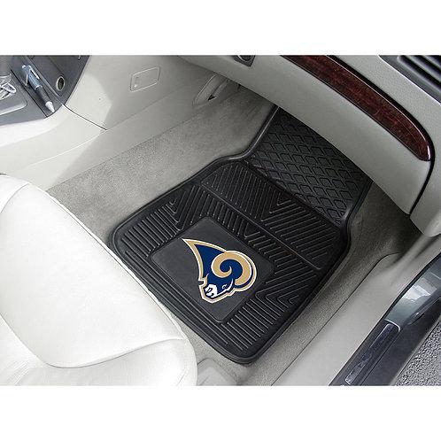St. Louis Rams Rubber Floor Mats (2)