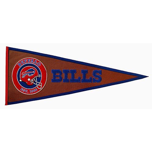 Buffalo Bills Pigskin Traditions Pennant (13x32)