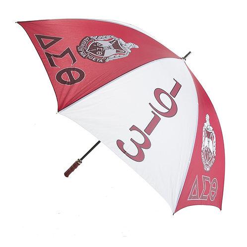 """Delta Sigma Theta 30"""" Jumbo Umbrella"""