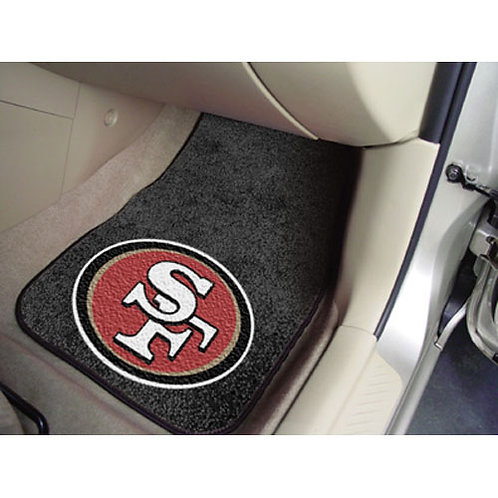 San Francisco 49ers NFL Car Floor Mats (2 Front)