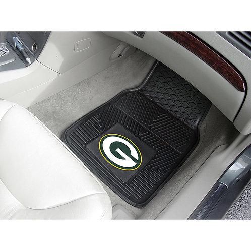 Green Bay Packers Rubber Floor Mats (2)