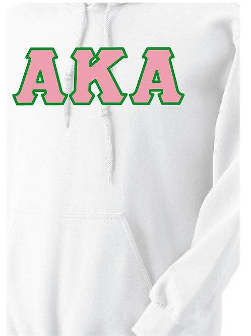 White AKA Fleece Hoody