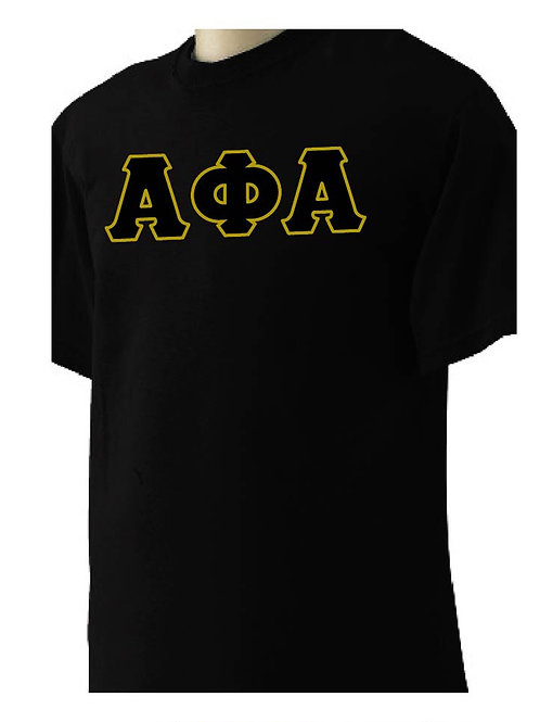 Alpha Phi Alpha Black Short Sleeve Tee
