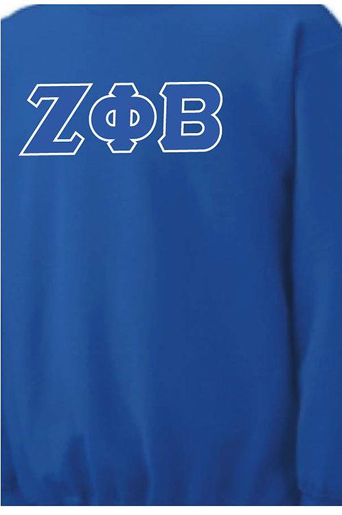 Zeta Phi Beta Fleece Crewneck Sweatshirt