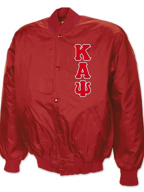 Kappa Alpha Psi Baseball Jacket
