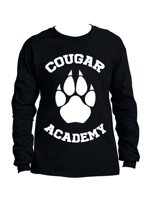 Cougar Academy Long Sleeve Tee (Full Front)