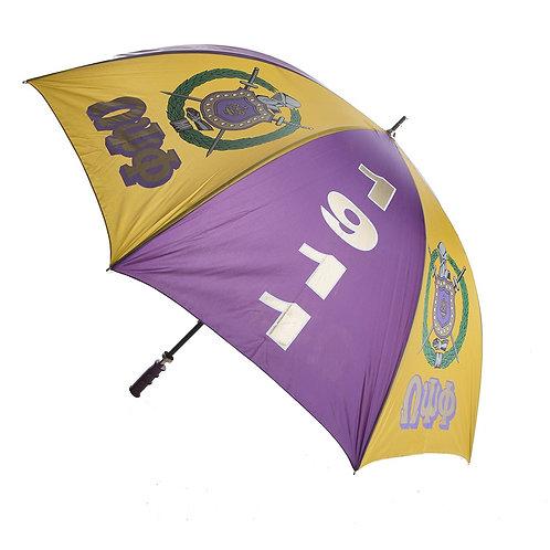 "Omega Psi Phi 30"" Jumbo Umbrella"