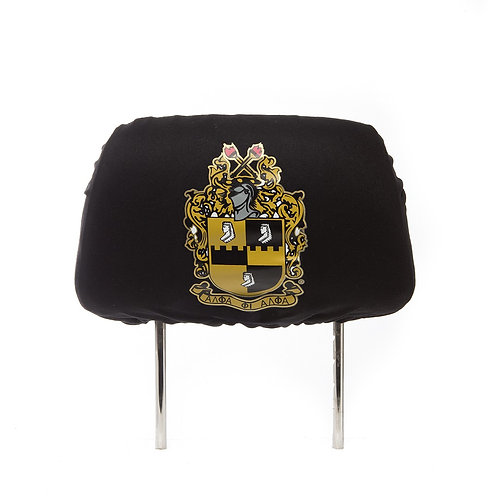 Alpha Phi Alpha Headrest Cover