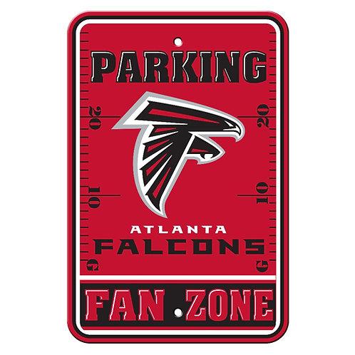 Atlanta Falcons NFL Plastic Parking Sign