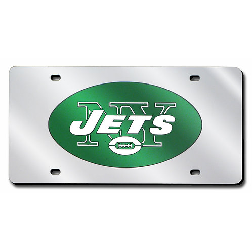 New York Jets Laser Cut License Plate Tag