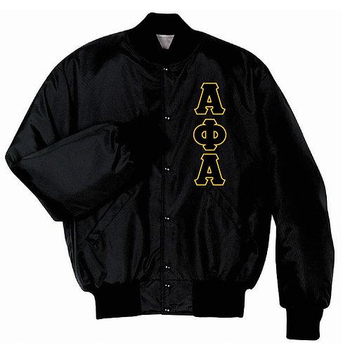 Alpha Phi Alpha Baseball Jacket