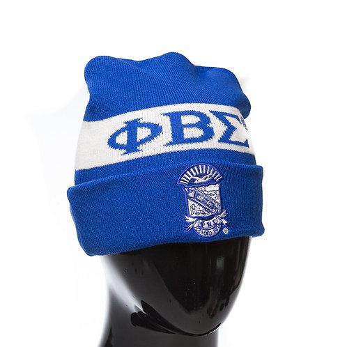 Phi Beta Sigma Knit Beanie