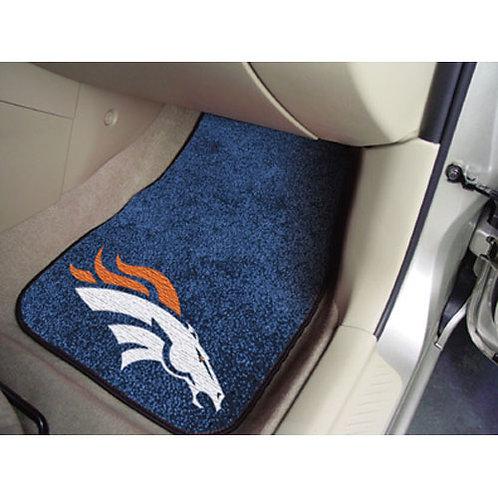 Denver Broncos Floor Mats (2)