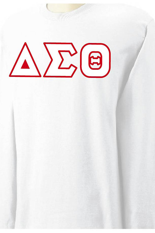 White DST Long Sleeve Tee