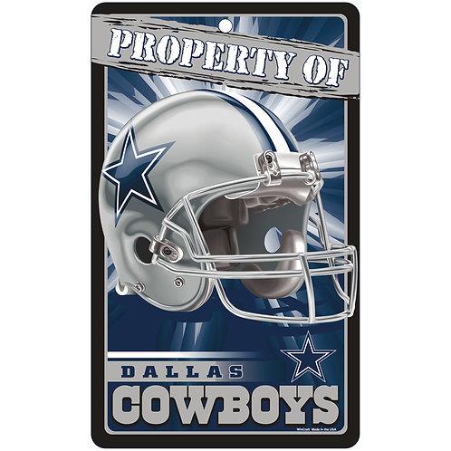 Dallas Cowboys Property of Sign