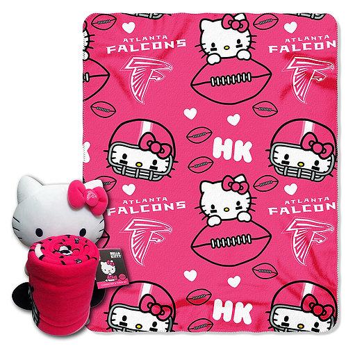 Atlanta Falcons Hello Kitty Throw Combo