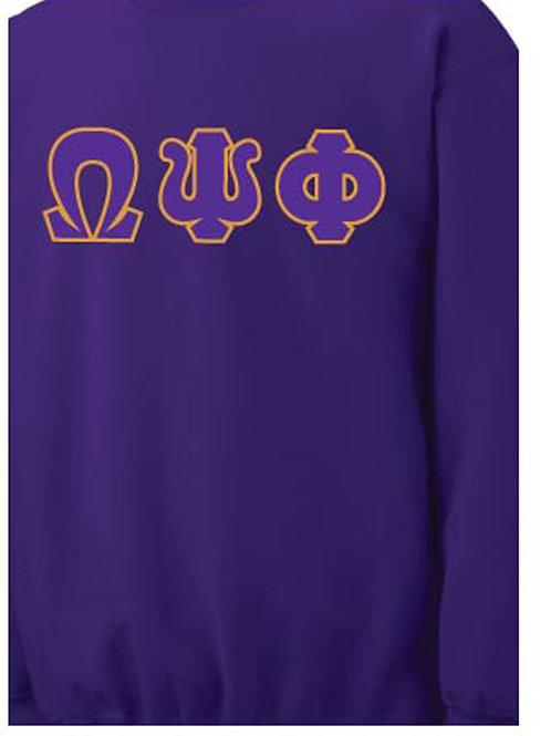 Purple Omega Fleece Crew