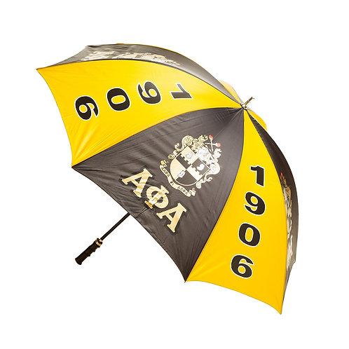 "Alpha Phi Alpha 30"" Jumbo Umbrella"