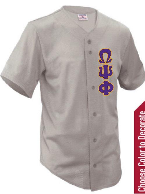 Omega Psi Phi Baseball Jersey
