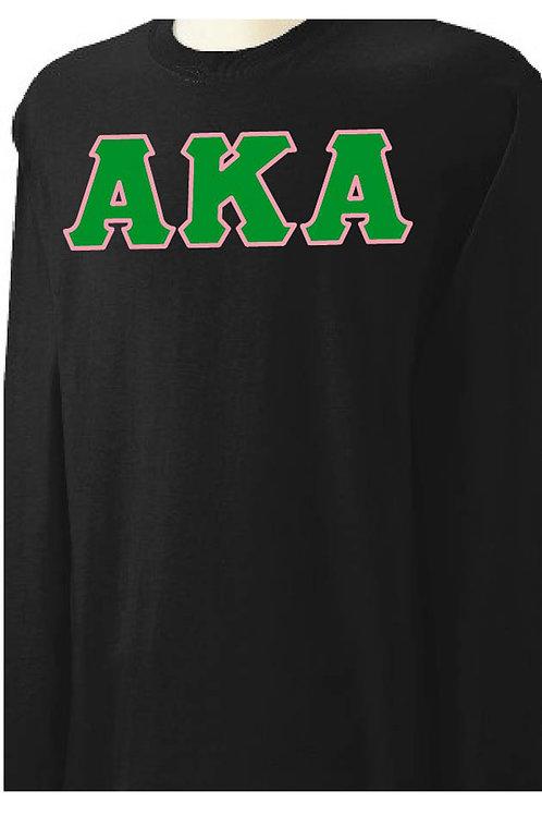 Alpha Kappa Alpha Long Sleeve Tee