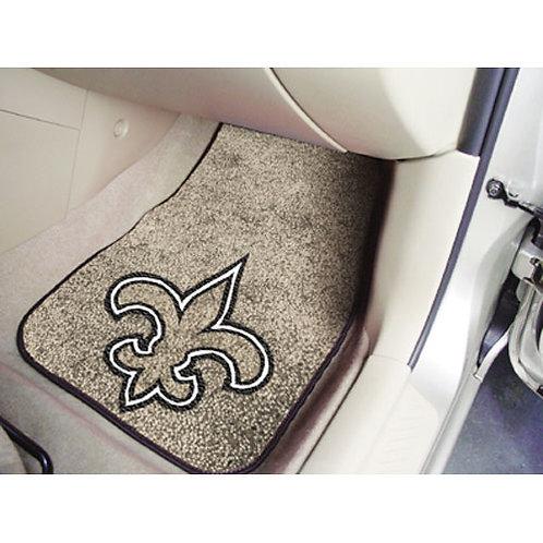 New Orleans Saints Car Floor Mats (2)