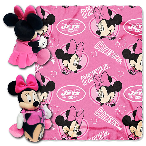 New York Jets Minnie mouse Throw Combo