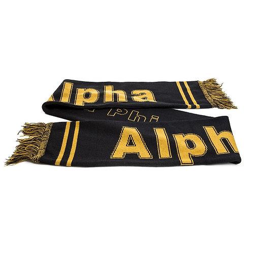 Alpha Phi Alpha Knit Scarf