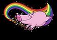 Prancing Pig Logo (Basic Bainbow).png