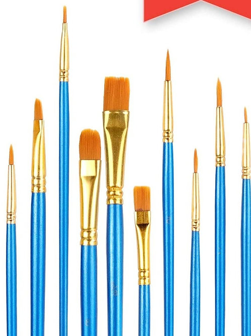10 Brush Pack