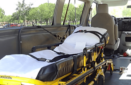 sedan ride for injured person after surgery or with back or leg injury