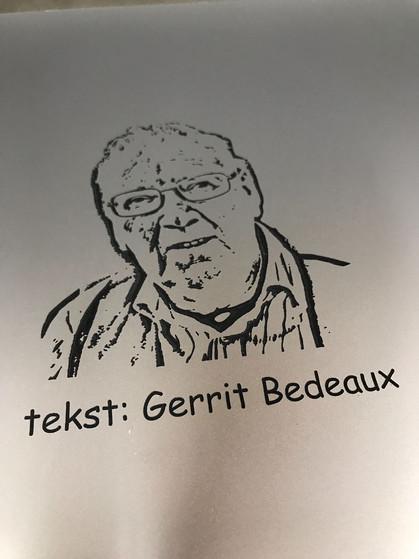 Onthulling bord Gerrit Bedeaux