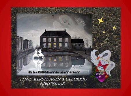 Kerstkaarten door Mart van Onna