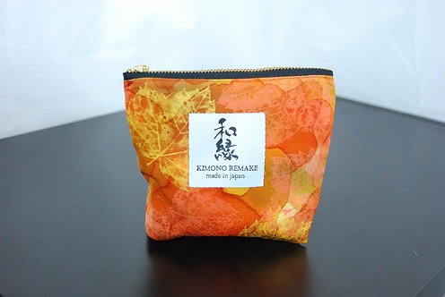 Pouch remade with kimono material | Series 4