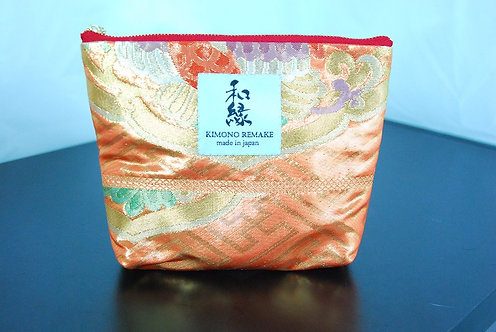 Pouch remade with kimono material   Series 4