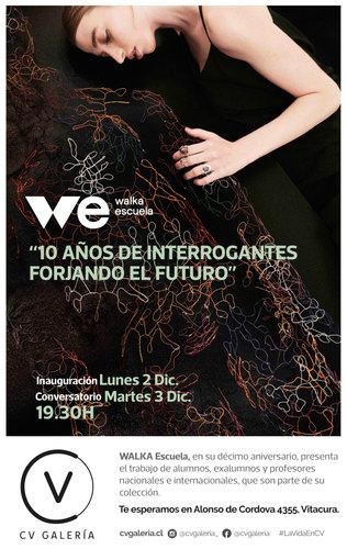 INVITACION WALKA Escuela 10 años CV Galeria 2019 Foto © 2019
