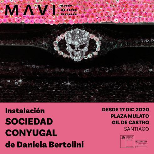 Sociedad conyugal de Daniela Bertolini: instalación de resistencia © 2020