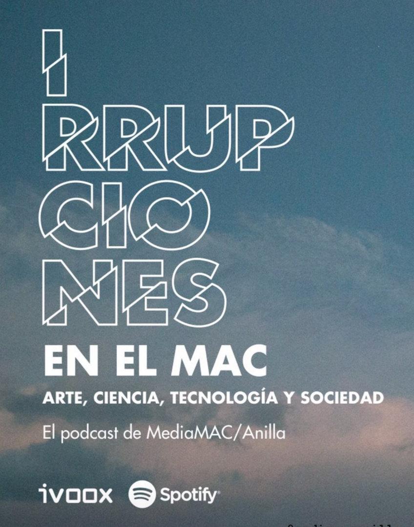 interrupciones ciclo de podcast en Museo de Arte Contemporáneo de Chile