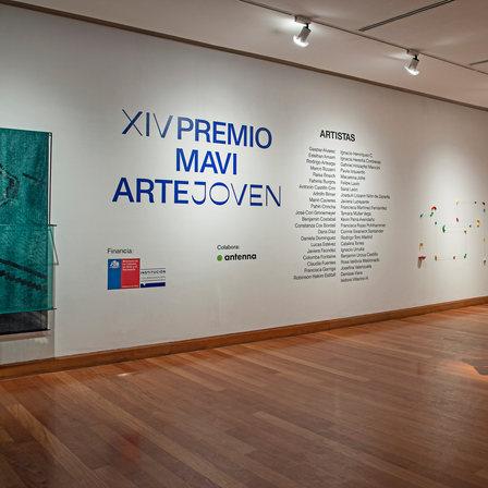 El público entrega uno de los reconocimientos del PREMIO MAVI ARTE JOVEN 2020