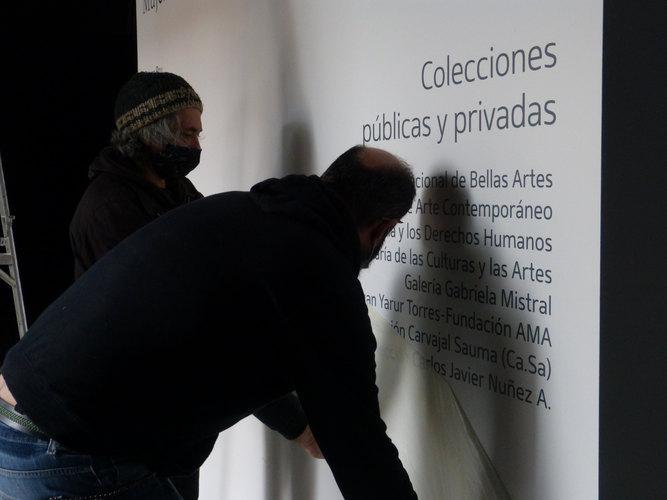 En imagen, obra La Hora, Voluspa Jarpa