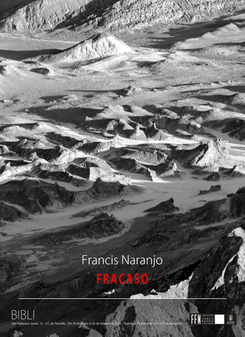 Francis Naranjo, exposición Fracaso en Bibli Santa Cruz Tenerife © 2021