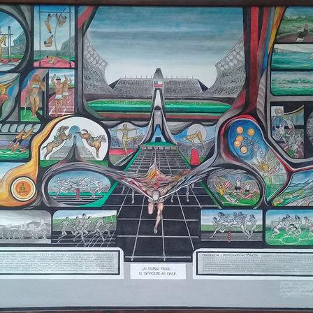 Hijos del Universo / Fernando Daza Espacio Arte del Centro Cívico de Lo Barnechea
